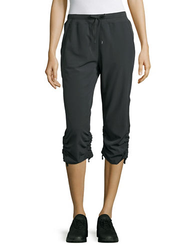 Marc New York Performance Gathered Cuff Capris-CHARCOAL-Medium 89158663_CHARCOAL_Medium