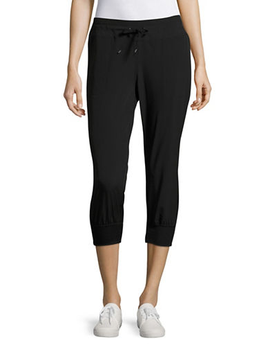 Marc New York Performance Commuter Active Crop Pants-BLACK-X-Large 89103529_BLACK_X-Large
