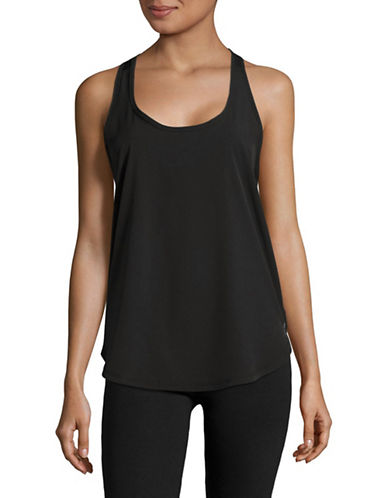 Marc New York Performance Active Mesh Back Floral Tank-BLACK-X-Large 89158746_BLACK_X-Large