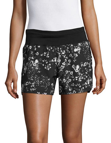 Marc New York Performance Printed Commuter Active Shorts-BLACK GRACEFUL-Large 89158714_BLACK GRACEFUL_Large