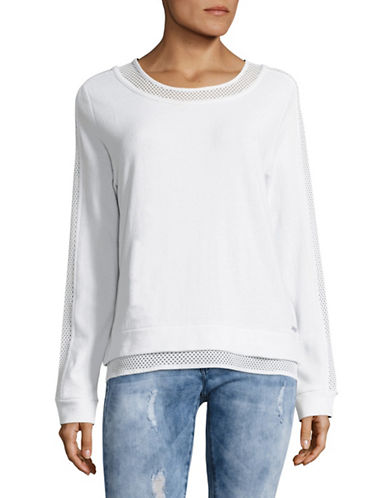 Marc New York Performance Mesh Panel Pullover-WHITE-Medium 89103566_WHITE_Medium