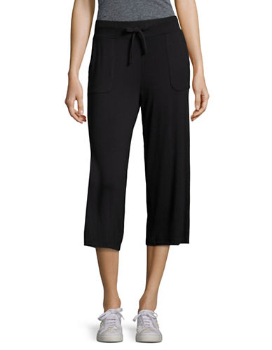 Marc New York Performance Drawstring Culottes-BLACK-Large 89158781_BLACK_Large