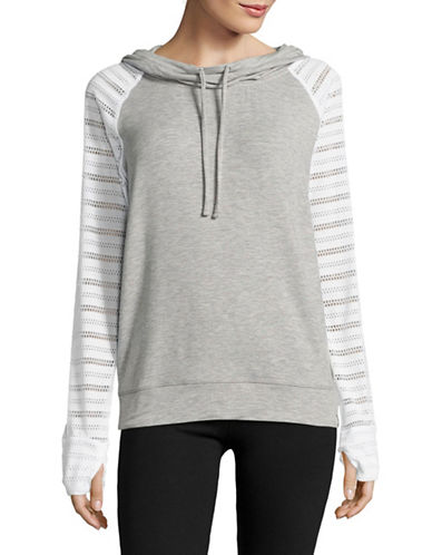 Marc New York Performance Pullover Combo Hoodie-LIGHT GREY HEATHER/WHITE-Medium 89103547_LIGHT GREY HEATHER/WHITE_Medium