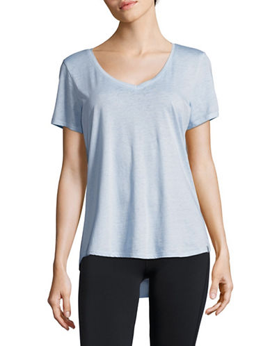 Marc New York Performance V-Neck T-Shirt-POWDER-Small