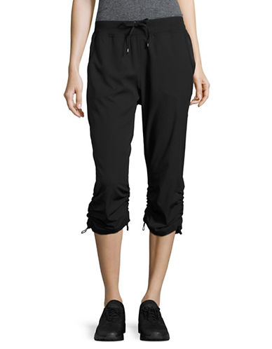 Marc New York Performance Gathered Cuff Capris-BLACK-X-Large 89158659_BLACK_X-Large