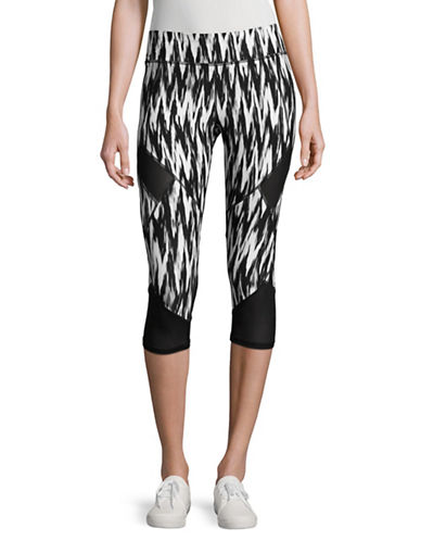 Marc New York Performance Crisscross Cage Capri Leggings-BLACK COMBO-Large 89020041_BLACK COMBO_Large
