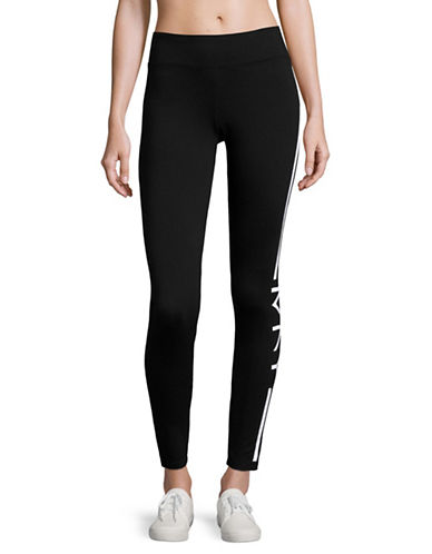 Marc New York Performance Screen-Printed Leggings-BLACK WHITE-Large 89020026_BLACK WHITE_Large