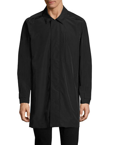 Marc New York Tech Oxford Car Coat-BLACK-Medium 89010618_BLACK_Medium