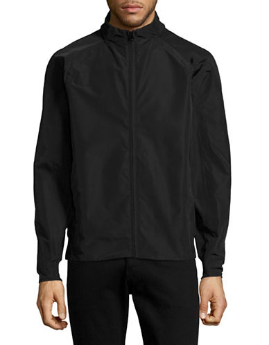 Marc New York Tech Oxford Bomber Jacket-BLACK-X-Large 89010635_BLACK_X-Large