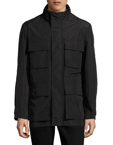 Marc New York Tech Oxford Field Jacket-BLACK-X-Large 89010625_BLACK_X-Large