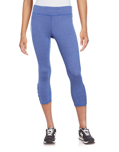 Marc New York Performance Patterned Athletic Leggings-CERULEAN-X-Large 88887567_CERULEAN_X-Large