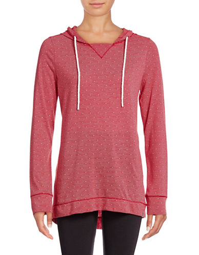 Marc New York Performance Hooded Polka Dot Pullover-RUBY/WHITE-Large 88887586_RUBY/WHITE_Large