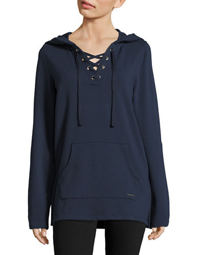 Marc New York Performance Lace-Up Roll-Sleeve Hoodie-MIDNIGHT-X-Small 88887603_MIDNIGHT_X-Small
