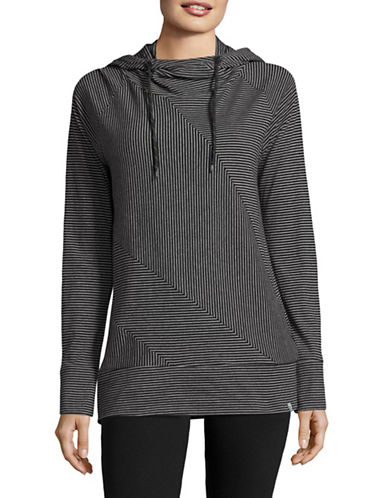 Marc New York Performance Striped Hoodie-BLACK/WHITE-Small 88920378_BLACK/WHITE_Small