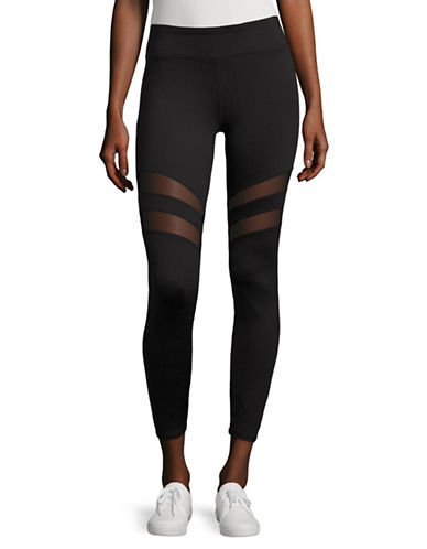 Marc New York Performance Mesh Insert Leggings-BLACK-Medium 88920374_BLACK_Medium