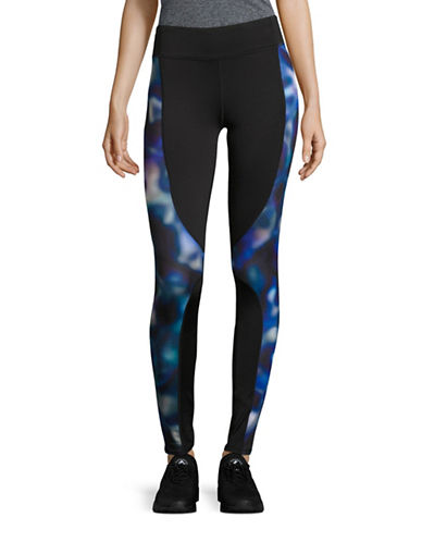 Marc New York Performance Splice Printed Leggings-PURPLE-Large 88840607_PURPLE_Large