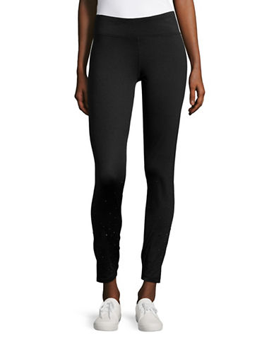 Marc New York Performance Embellished Long Leggings-BLACK-X-Large 88840613_BLACK_X-Large