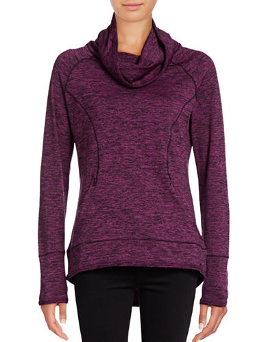 Marc New York Performance Marled Cowl Performance Pullover-FIG-Small 88860295_FIG_Small