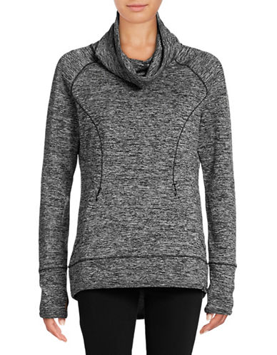 Marc New York Performance Marled Cowl Performance Pullover-BLACK-Small 88860290_BLACK_Small