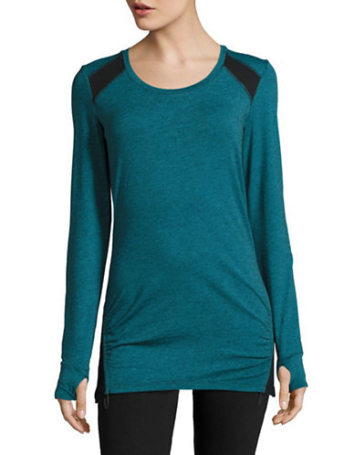 Marc New York Performance Active Drawcord Top-FROZEN BLACK-X-Small 88752044_FROZEN BLACK_X-Small