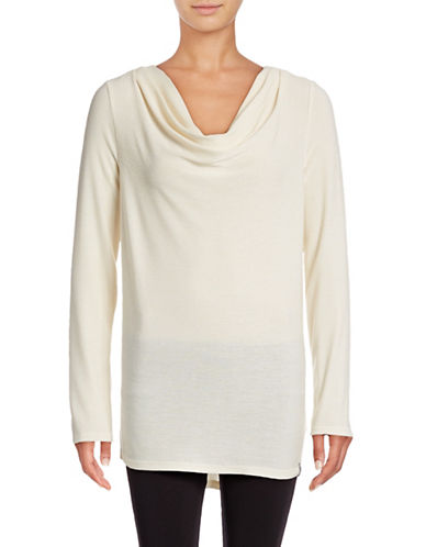 Marc New York Performance Knit Cowl Neck Top-IVORY-Large 88752035_IVORY_Large