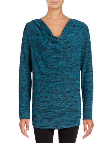 Marc New York Performance Knit Cowl Neck Top-FROZEN MELON-Small 88752042_FROZEN MELON_Small