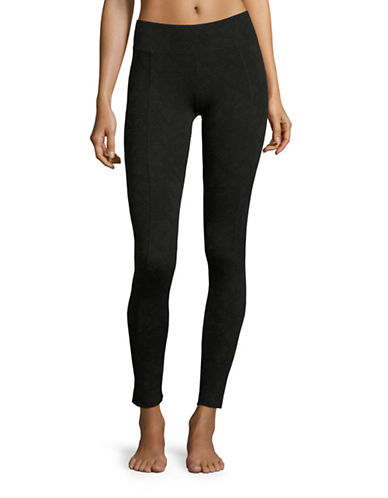 Marc New York Performance Lace Print Leggings-BLACK-Small 88585404_BLACK_Small