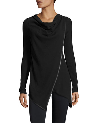 Marc New York Performance Performance Draped Pullover-BLACK-Medium 88585425_BLACK_Medium