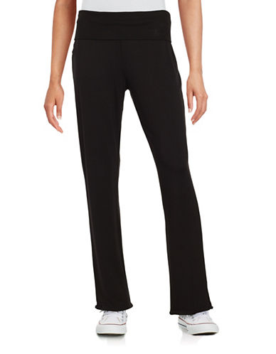 Marc New York Performance Fold-Over Knit Pants-BLACK-Medium 88860173_BLACK_Medium