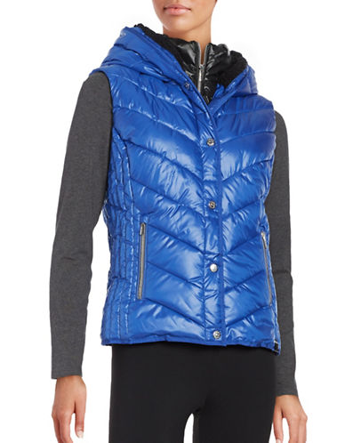 Marc New York Performance Sherpa-Lined Hooded Performance Puffer Vest-ARCTIC BLUE-X-Large 88752071_ARCTIC BLUE_X-Large