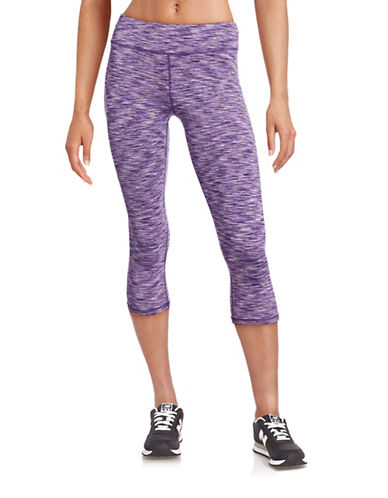 Marc New York Performance Printed Stretch Capris-PURPLE-Large 88427472_PURPLE_Large