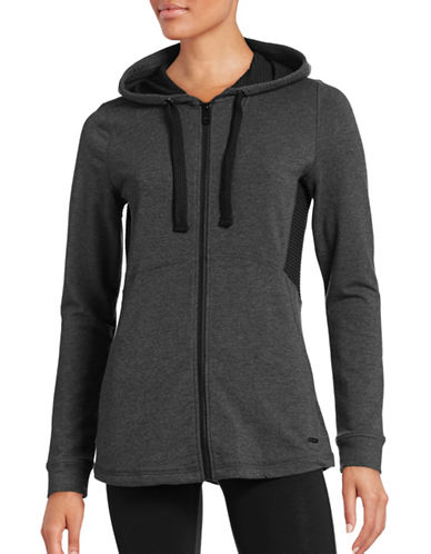Marc New York Performance Mesh-Insert Zip-Up Hoodie-GREY-X-Small 88554110_GREY_X-Small