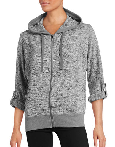 Marc New York Performance Roll-Sleeve Hoodie-GREY-Small 88554106_GREY_Small