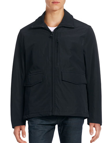 Marc New York Insulated Soft Shell Rain Jacket-BLACK-Large 88618485_BLACK_Large