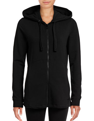 Marc New York Performance Hooded Mesh Zip Sweater-BLACK-Medium 88860158_BLACK_Medium