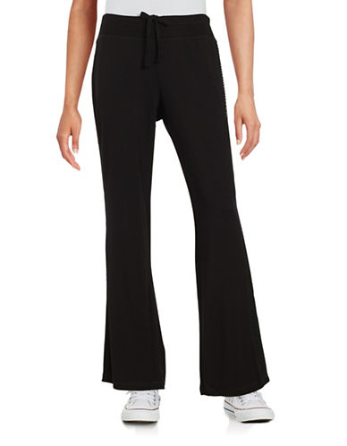 Marc New York Performance Mesh-Accented Active Pants-BLACK-X-Large 88860183_BLACK_X-Large
