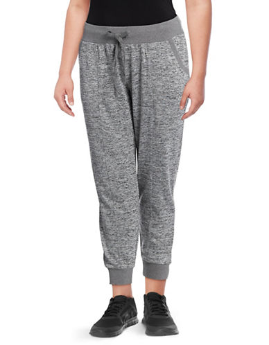 Marc New York Plus Knit Sweatpants-GREY-3X