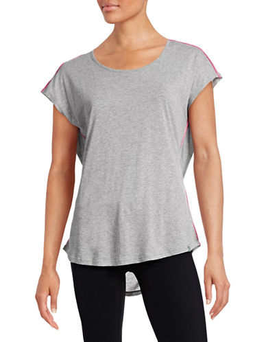 Marc New York Performance Hi-Lo Draped Back Tee-GREY-Large 88427512_GREY_Large