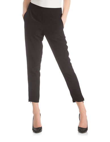Guess Cate Pull-On Pants-BLACK-Medium