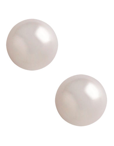 Fine Jewellery 14K Yellow Gold Freshwater 8 5mm Freshwater Pearl Stud Earrings-PEARL-One Size