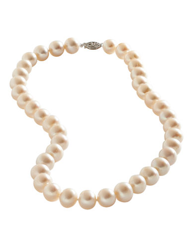 Fine Jewellery Sterling Silver 11mm Freshwater Pearl Strand-PEARL-One Size