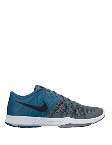 Nike Mens Zoom Train Incredibly Fast Sneakers-NAVY/GREY-8