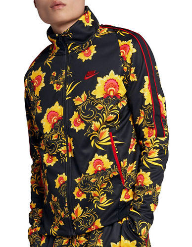 Nike Sportswear N98 Jacket-BLACK/YELLOW-X-Large 90030034_BLACK/YELLOW_X-Large