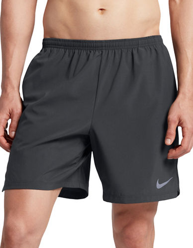 Nike Flex Running Shorts-GREY-Small
