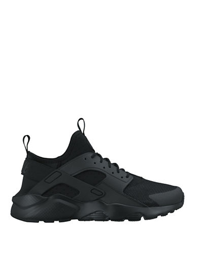 Nike Mens Air Huarache Run Ultra Shoes-BLACK-11 88528347_BLACK_11