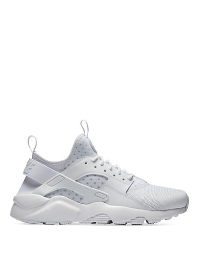 Nike Mens Air Huarache Run Ultra Sneakers-NATURAL-9.5