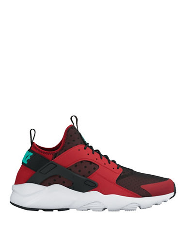 Nike Air Huarache Run Ultra Shoes-RED-8 88528353_RED_8
