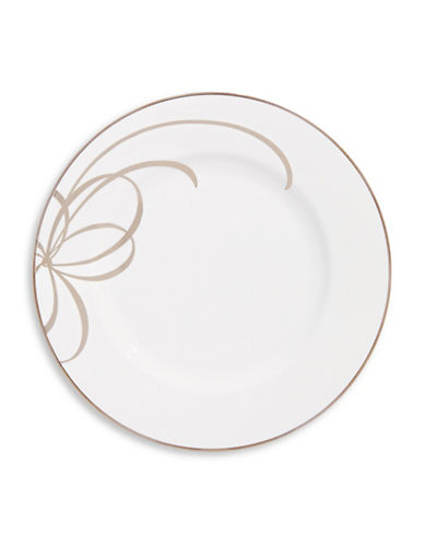 Kate Spade New York Belle Blvd Salad Plate-WHITE-One Size