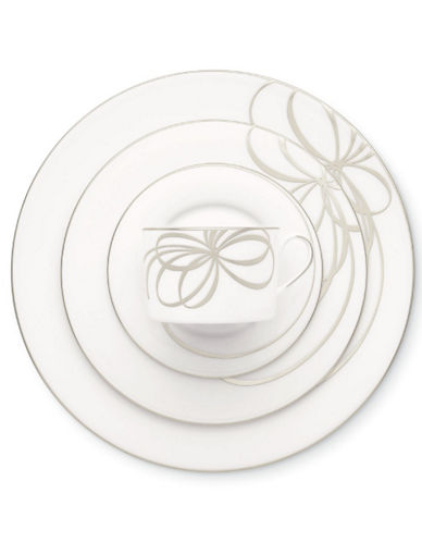 Kate Spade New York B Boulevard 5 Piece Placesetting-WHITE-One Size