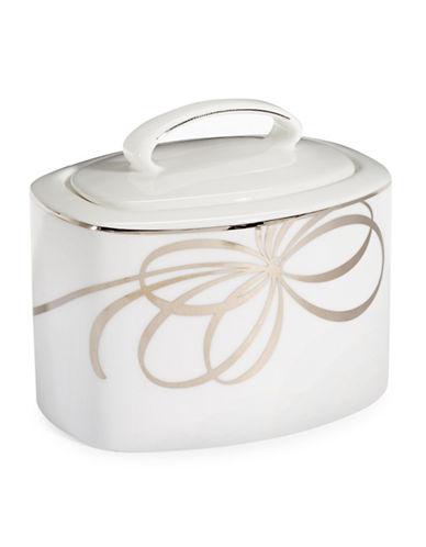 Kate Spade New York Belle Boulevard Sugar Bowl-WHITE-One Size